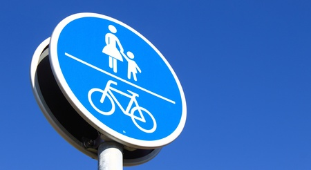 footwaybicycle path photo