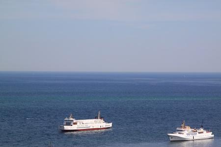 helgoland: ship traffic off helgoland