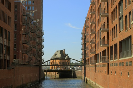warehouse district of hamburg