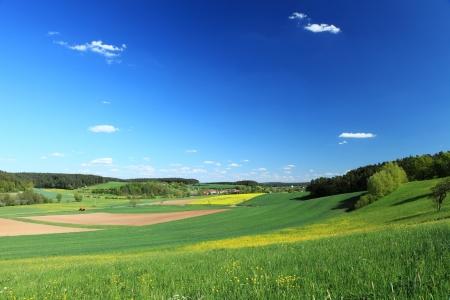 Mnchstenach 바바리아 독일에서 경치를 볼