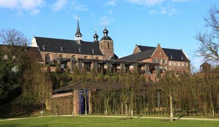 north  rhine westphalia: Kamp Monastery in Kamp-Lintfort - North Rhine Westphalia Germany