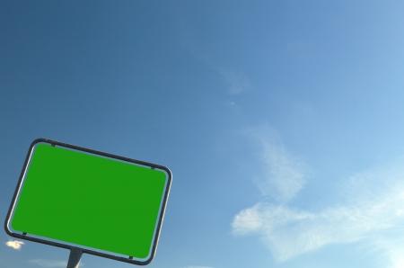 ortsschild: Texture green - roed sign
