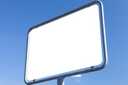 ortsschild: road sign - textur white Stock Photo