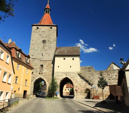 The Nuremberg goal in Neustadt Aisch bavaria - germany -  in the summertime Stock Photo - 14469045