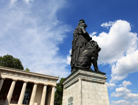 bavaria: Statue Bavaria Munich