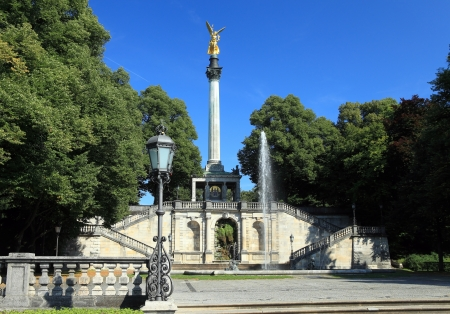angel of place in munich - germany photo