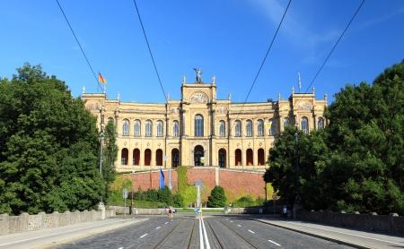 provincial: Maximilianeum - Bavarian Parliament Stock Photo