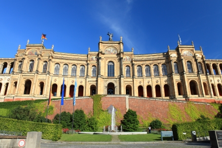 Maximilianeum - Bavarian Parliament photo