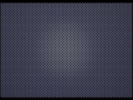 Mesh grille (3d illustration)  illustration