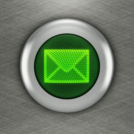 E-mail button concept Stock Photo - 6840824