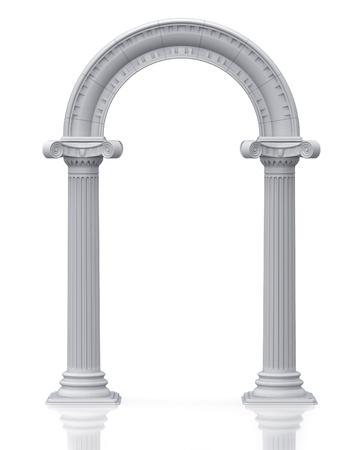 Classic arch (3d render)