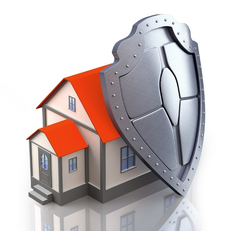 home insurance: Protection concept
