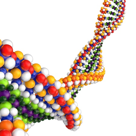 DNA 3d concept  Stock Photo - 9959892