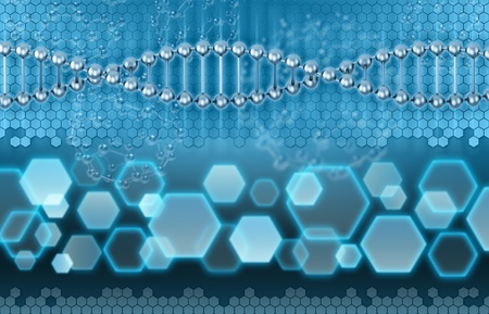 DNA 3d background photo