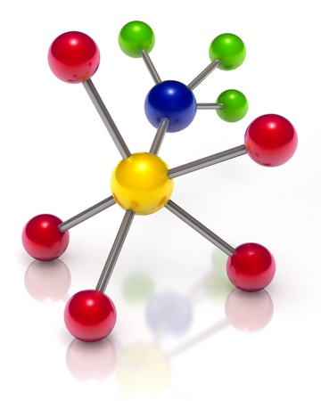 covalent: Molecule Stock Photo