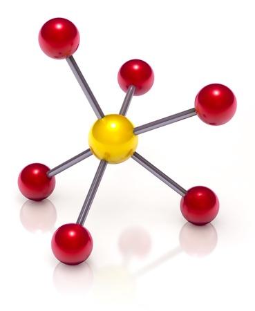 covalent: Molecule Stock Photo