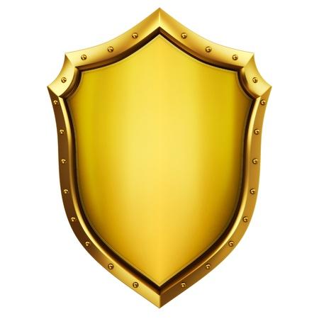 Gold Shield  Reklamní fotografie