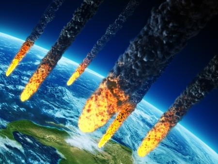 Planet armageddon  Stock Photo
