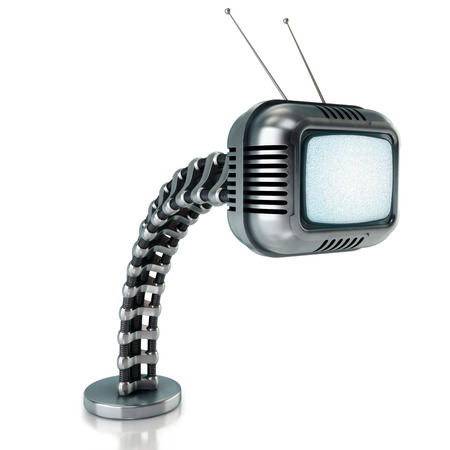 Sci-fi tv concept  Stock Photo