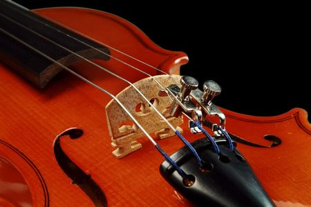 Violin on a white background. The size 1/16 Stock Photo - 2808702