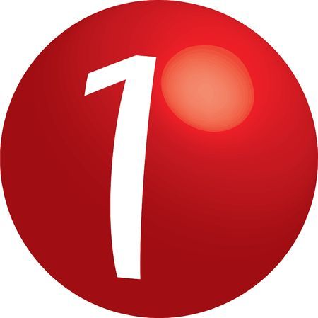 numerology: series of illustrations with spheres � zero, one, two, three, four, five, six, seven, eight, nine