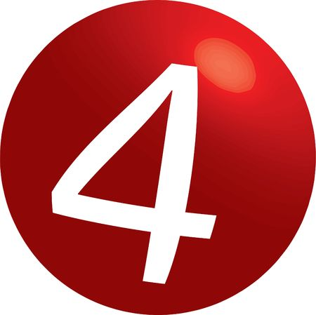 numerology: series of illustrations with spheres ¹ zero, one, two, three, four, five, six, seven, eight, nine