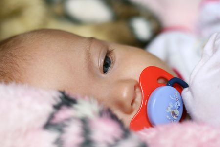 caucasian: series of a photo about the image of the newborn girl