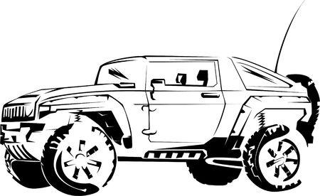 Auto von meinem Traum und in irgendeiner Weise anders:)