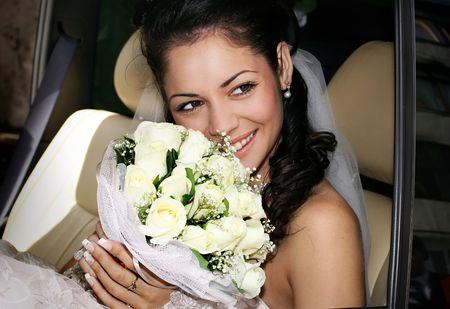 fiance: Portrait of the beautiful bride