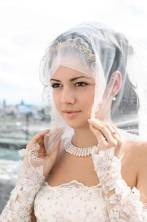Portrait of the beautiful bride Stock Photo - 3828806