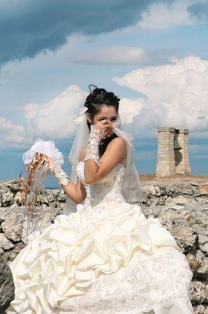 Portrait of the beautiful bride Stock Photo - 3828794