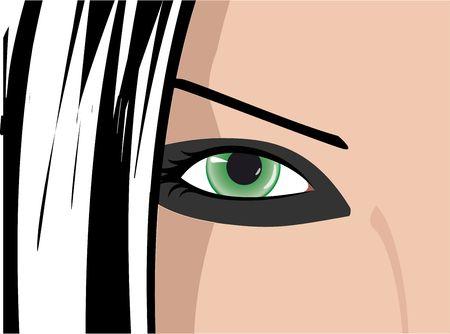 green eye Stock Photo - 4846326