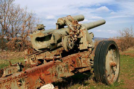 batallón: La tecnología militar de los tiempos de la Segunda Guerra Mundial Foto de archivo