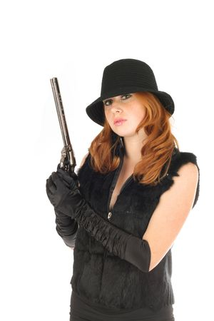 series in style the gangster Stock Photo - 5214349
