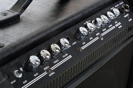 amp: Series. Guitar amp background
