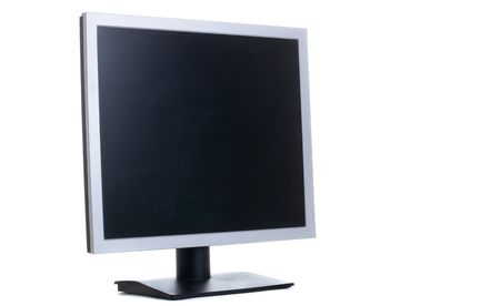 Series. Personal computer isolated on the white background photo