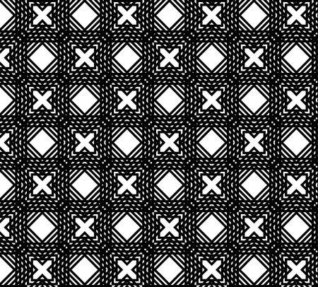 manic: series. Beautiful seamless background Stock Photo