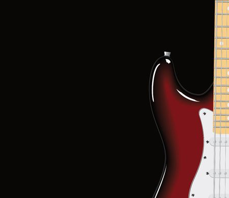 series. Electric guitar Stock Photo - 6586113