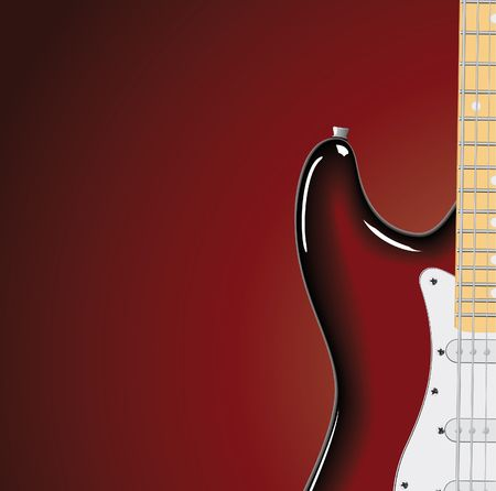 series. Electric guitar Stock Photo - 6586112