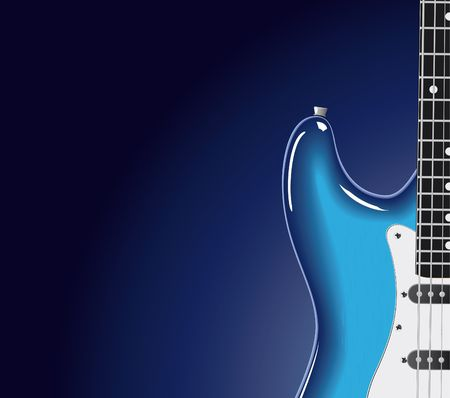 series. Electric guitar Stock Photo - 6586109