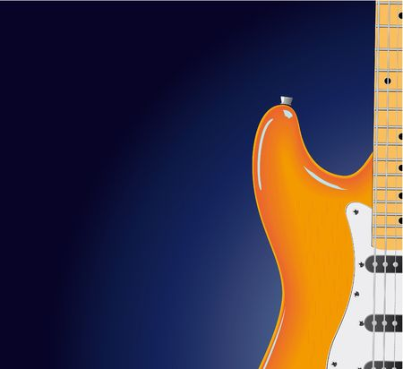 series. Electric guitar Stock Photo - 6586111