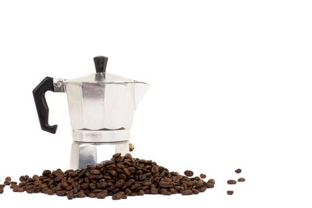 Series. coffee maker isolated on white background Stock Photo - 6845192