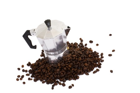 Series. coffee maker isolated on white background Stock Photo - 6983371