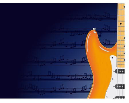 Vector series. Electric guitar Stock Photo - 7775642
