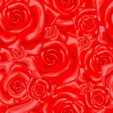 wallflower: Series. Seamless wallpaper pattern with rose