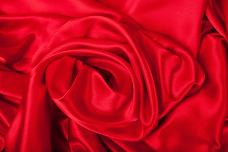 Series.Smooth elegant red silk can use as background photo