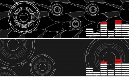 series. Abstract background. Vector illustration illustration