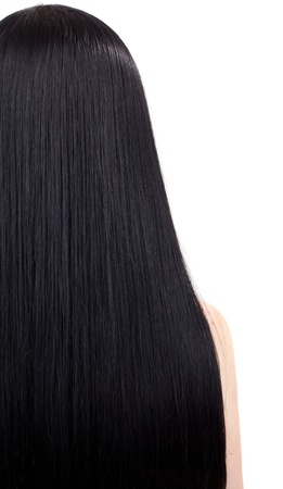 young woman with beautiful black hair Stock Photo - 10493985