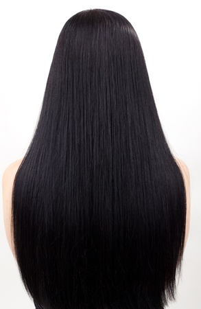 young woman with beautiful black hair Stock Photo - 11745863