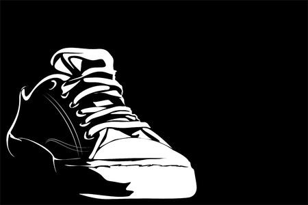 los zapatos de la serie Gimnasio Foto de archivo